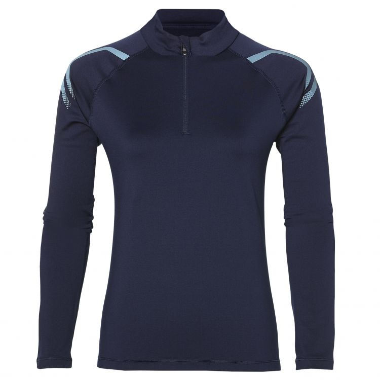 Damska bluza do biegania Asics Icon Winter LS 1/2 Zip Top