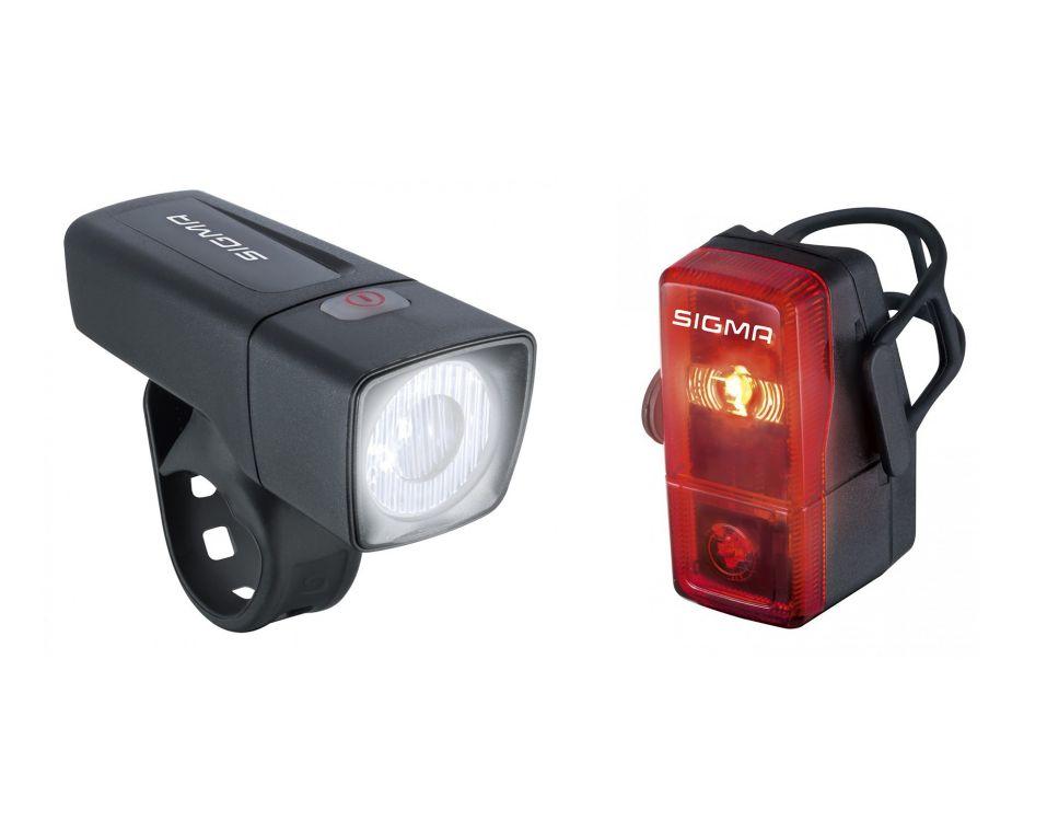 Sigma Sport Aura 25 K Set Oświetlenie Rowerowe