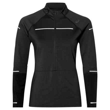 Damska bluza do biegania Asics Lite-Show Winter LS 1/2 Zip Top