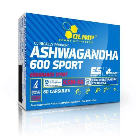 Olimp Ashwagandha 600 Sport - suplement diety dla sportowców
