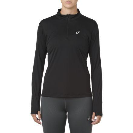 Asics Silver LS 1/2 Zip Top - damska bluza do biegania