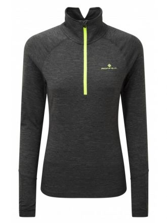 Ronhill Stride Thermal L/S Zip Damska bluza do biegania RH-002582
