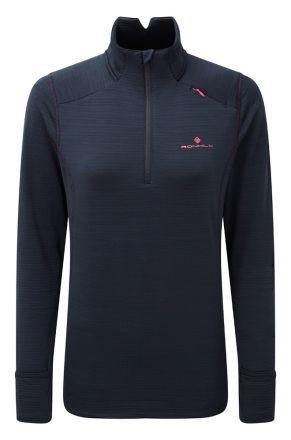 Damska bluza do biegania Ronhill Wmn's Stride Matrix 1/2 Zip RH-003388
