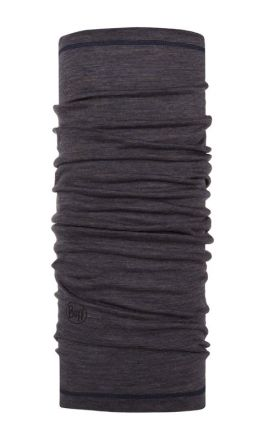 Buff® Lightweight Merino Wool Charcoal Grey Multi Stripes