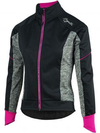 Rogelli Winterjacket Carlyn 2.0 - damska ciepła kurtka rowerowa