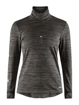 Craft Grid HalfZip W - damska ciepła bluza do biegania  1906644-998000