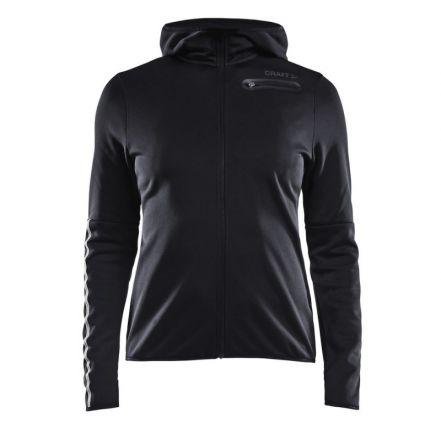 Craft Eaze Jersey Hood Jacket W - damska bluza biegowa