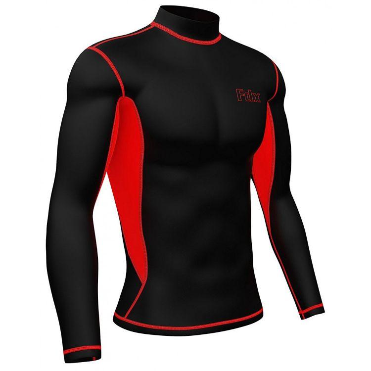 FDX Men's Super Thermal Compression Base Layer - męska bluza do biegania