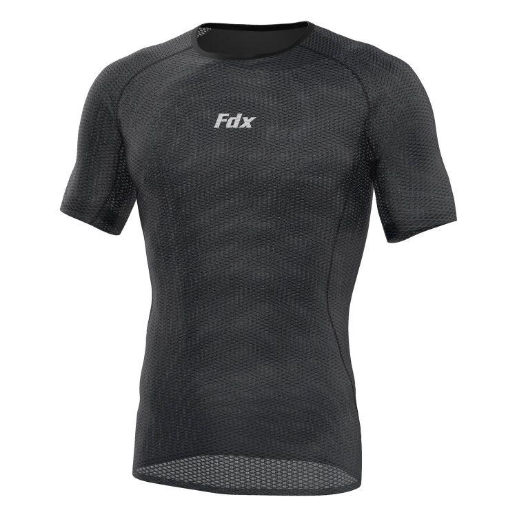 FDX Cool Mesh Base Layer Half Slave - męska ultralekka bielizna termoaktywna do biegania  z krótkim rękawkiem