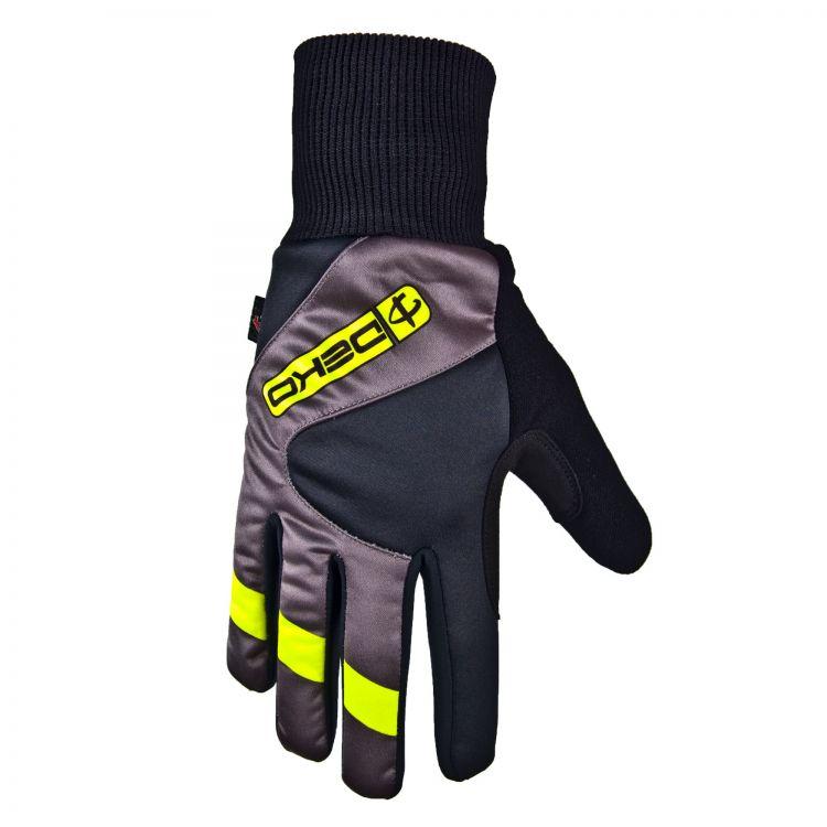 Deko Rast - zimowe rękawiczki rowerowe z żelowymi wstawkami