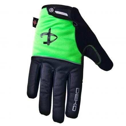 Deko Rost - zimowe rękawiczki rowerowe z żelowymi wstawkami