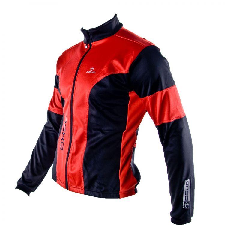 84cf366121f81 Deko Hum Jacket | BLACK/RED - Cycleshop.pl