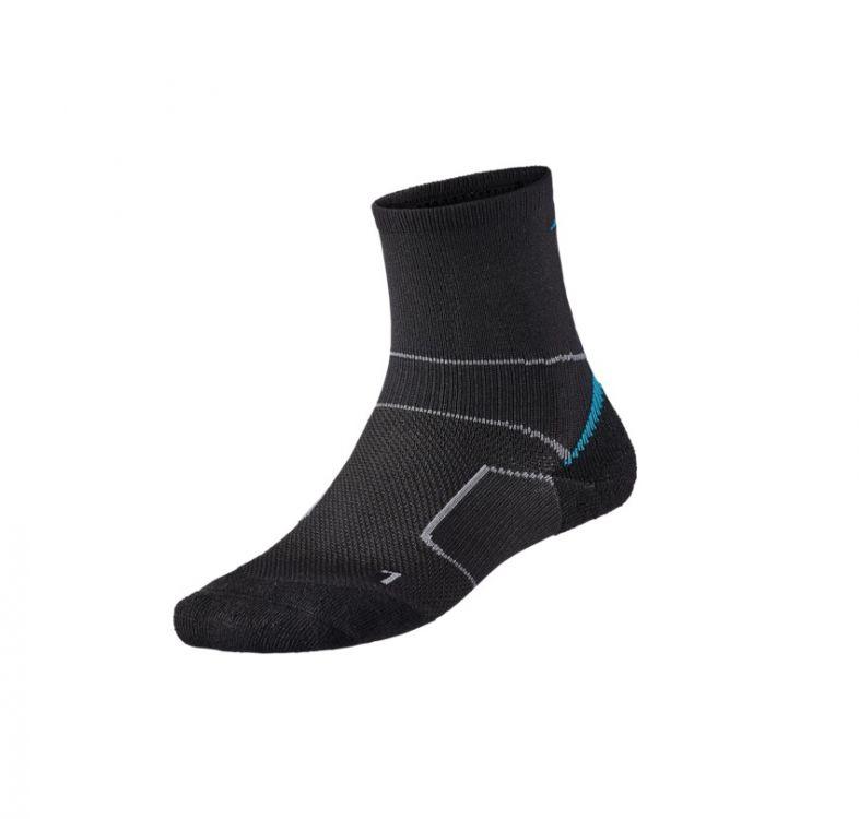Mizuno Endura Trail Socks | CZARNE - profesjonalne skarpety do biegania  terenie J2GX8700Z-95