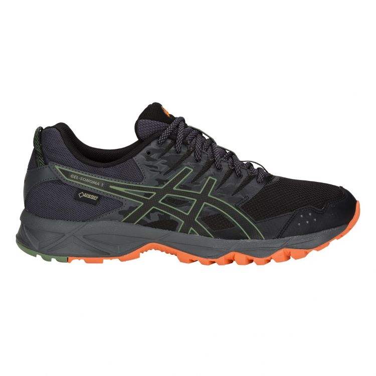 Asics Gel-Sonoma 3 G-TX | CZARNY - męskie buty terenowe T727N-002