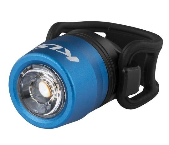 Kellys IO USB | NIEBIESKA - przednia lampka rowerowa