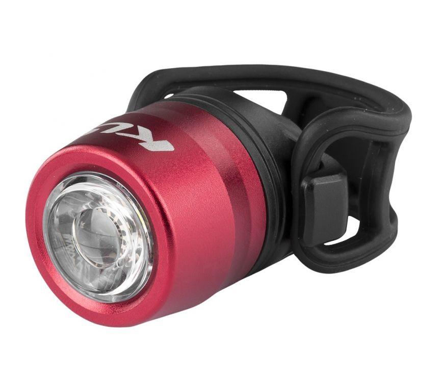 Kellys IO USB | CZERWONA - przednia lampka rowerowa