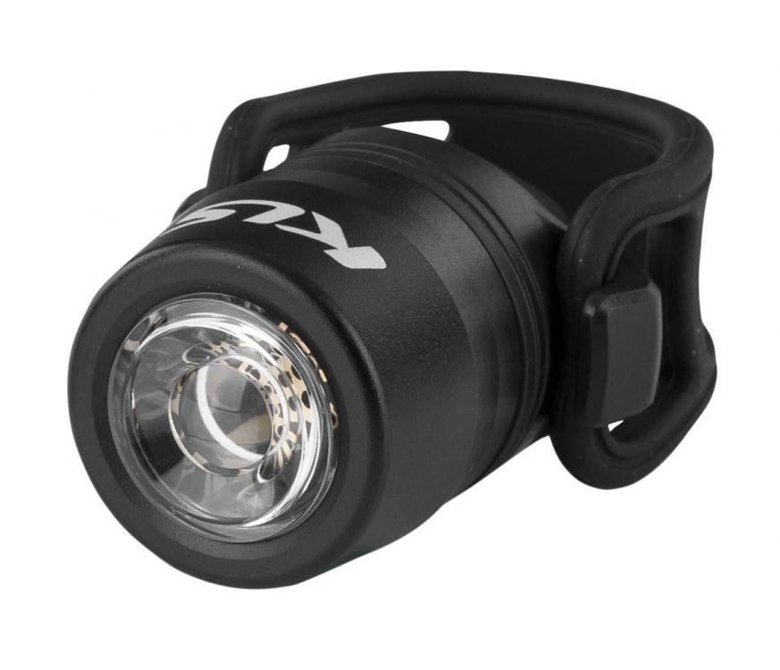 Kellys IO USB | CZARNA - przednia lampka rowerowa