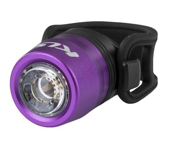 Kellys IO USB | FIOLET- przednia lampka rowerowa