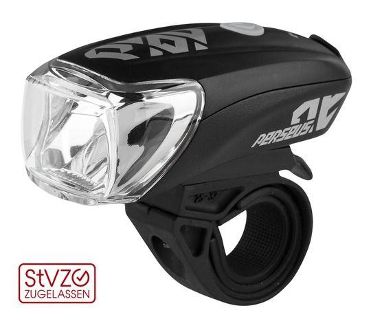 Kellys Perseus USB | CZARNA- mocna przednia lampka rowerowa