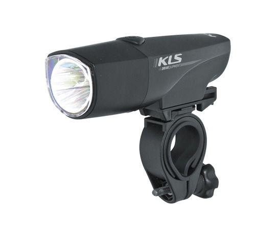 Kellys Revolt Headlight | CZARNA -  przednia lampka rowerowa