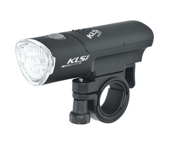 Kellys Humble Headlight | CZARNA -  przednia lampka rowerowa