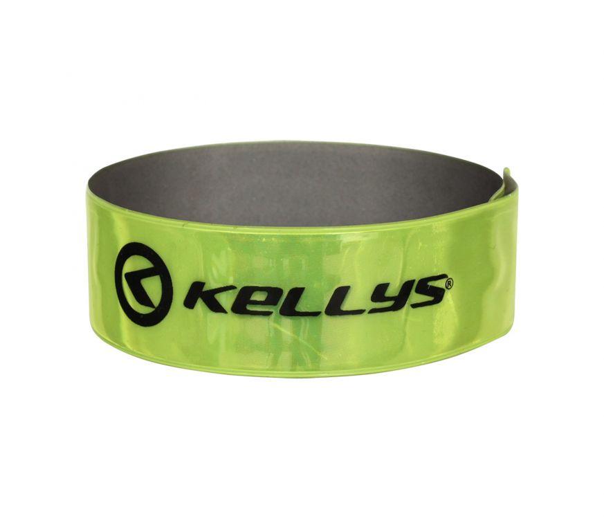 Kellys Shadow| ŻÓŁTY ODLASKOWY [S/M] -  zestaw 2 opasek odblaskowych na ramię typu slap wrap