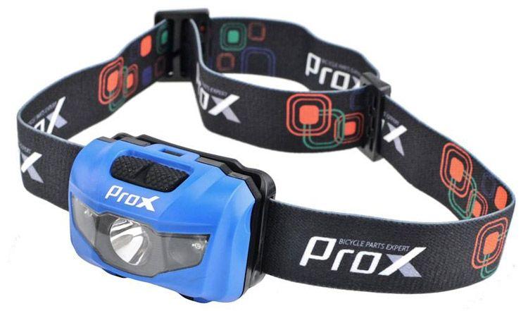 Latarka czołowa do biegania ProX Cygnus |niebieska