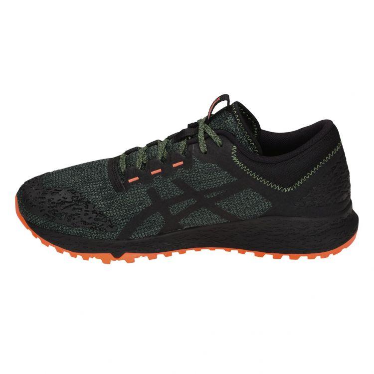 Asics Alpine XT | CZARNO-ZIELONY - męskie buty do biegania w terenie T828N_300