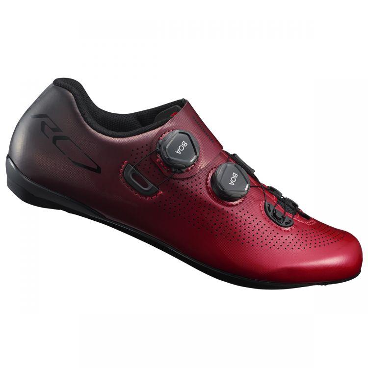 Shimano RC7 | CZARNY - męskie buty rowerowe do jazdy szosowej SH_RC701_RED