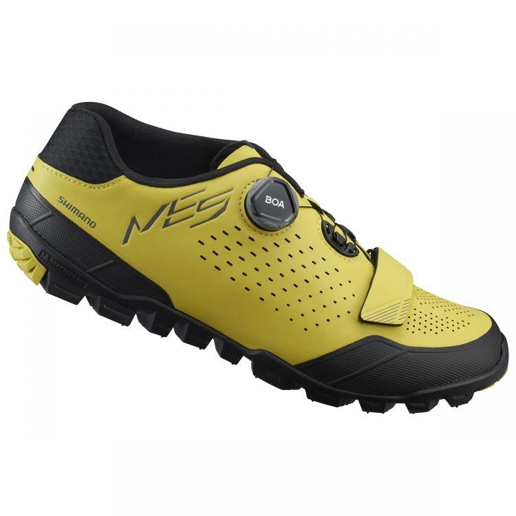 Shimano ME5 | ŻÓŁTO-CZARNE - męski buty rowerowe do jazdy w terenie SH-ME501
