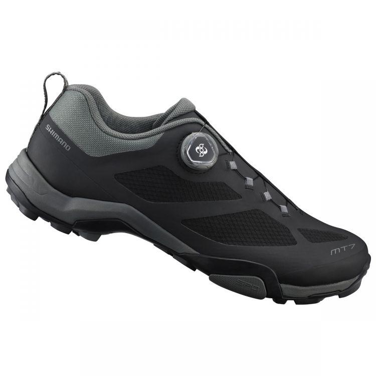 Shimano MT7 | CZARNE - męskie buty do turystki rowerowej SH-MT700