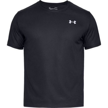 Under Armour Speed Stride Shortsleeve | CZARNY - męska koszulka do biegania 1326564-001