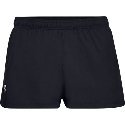 Under Armour Launch Split Short | CZARNE -  męskie spodenki do biegania 1326570-001