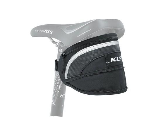 Kellys Dandy L | CZARNA - duża torba pod siodłowa