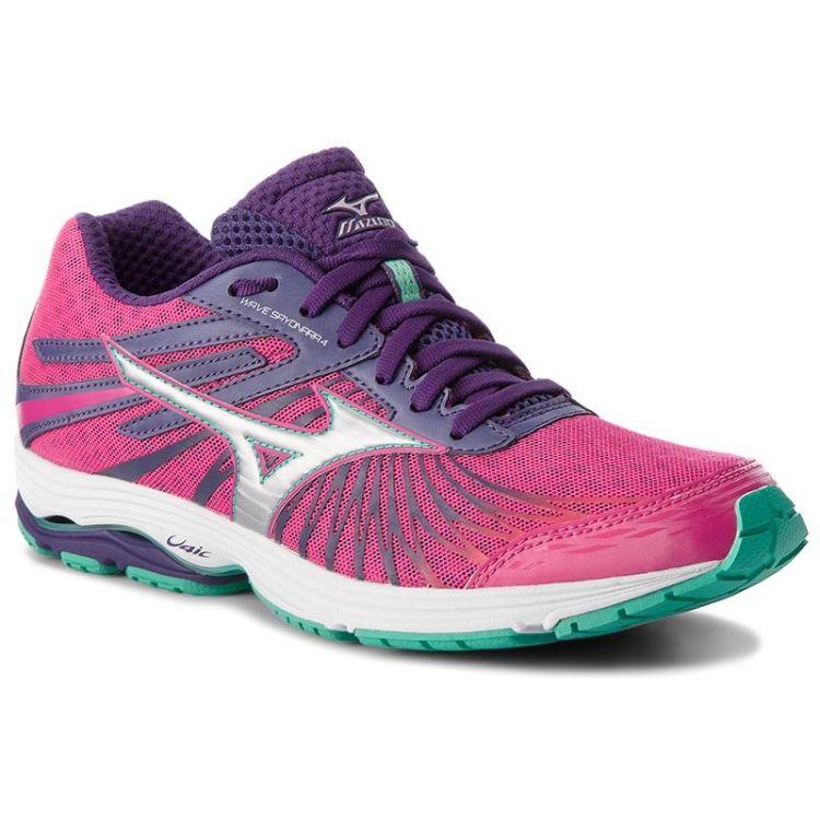 Mizuno Wave Sayonara 4 | RÓŻOWE - Damskie buty do biegania J1GD163003