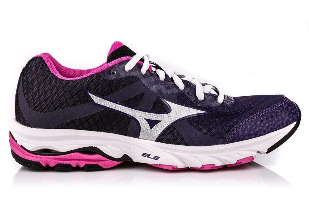 Mizuno Wave Elevation | FIOLETOWO-BIAŁY - męskie buty biegowe J1GL141720