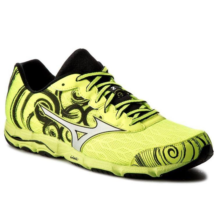 Mizuno Wave Hitogami 2 | ŻÓŁTE - męskie buty do biegania J1GA158003