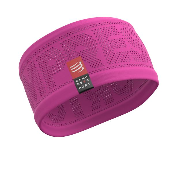 Compressport On/Off Headband V2 | RÓŻOWA - opaska termoaktywna na głowę HBV2-3430