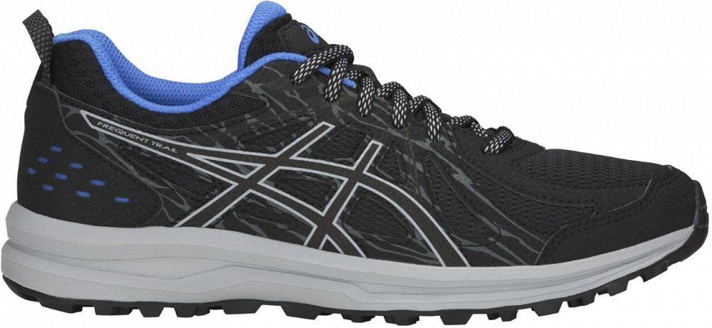 Asics Frequent Trail | CZARNO - SZARY  - damskie buty do biegania w terenie 1012A022-001