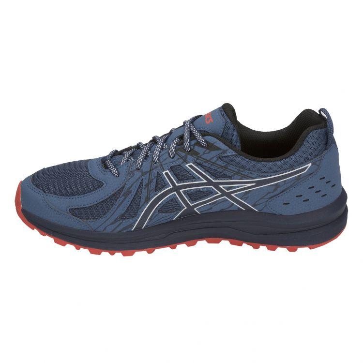 0aaedb05 ... Asics Frequent Trail | CZARNO - SZARY - męskie buty do biegania w  terenie 1011A034- ...