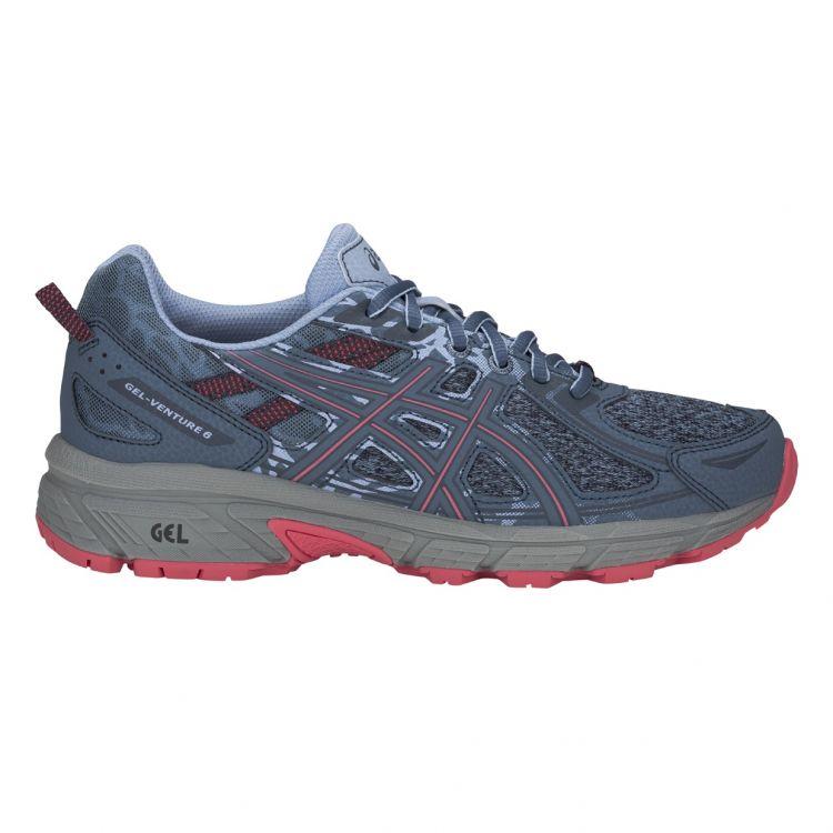 Asics Gel-Venture 6 | NIEBIESKO-RÓŻOWE - damskie buty do biegania w terenie 1012A504-400