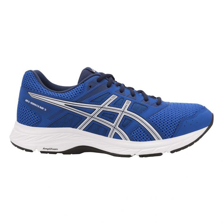 Asics Gel Contend 5 | NIEBIESKO-BIAŁE - męskie buty do biegania 1011A256-400