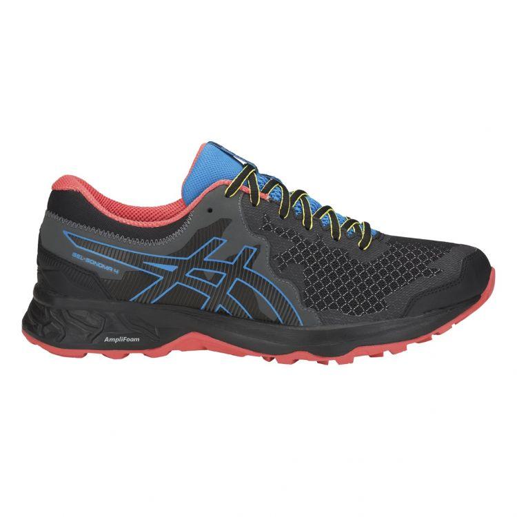 Asics Gel-Sonoma 4 | CZARNO-NIEBIESKIE - męskie buty terenowe 1011A177-001