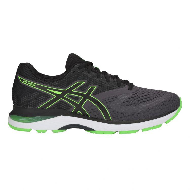 Asics Gel Pulse 10 | SZARO-ZIELONE - męskie buty do biegania 1011A007-021