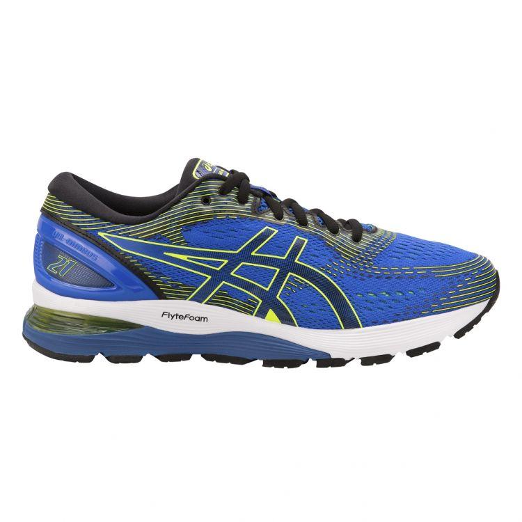Buty do biegania Asics Gel Nimbus 21 | NIEBIESKIE 1011A169-400