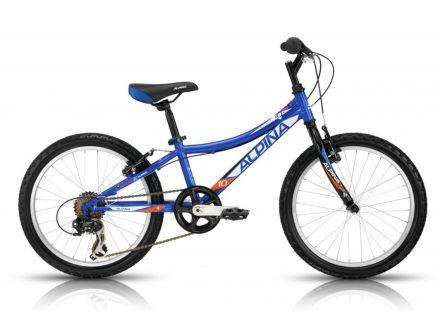 Alpina Bestar 10 | NIEBIESKI - rower dziecięcy przeznaczony dla dzieci w wieku szkolnym