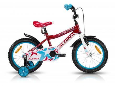 Alpina Starter Red | CZERWONY - dziecięcy rowerek dla dzieci w wieku przedszkolnym