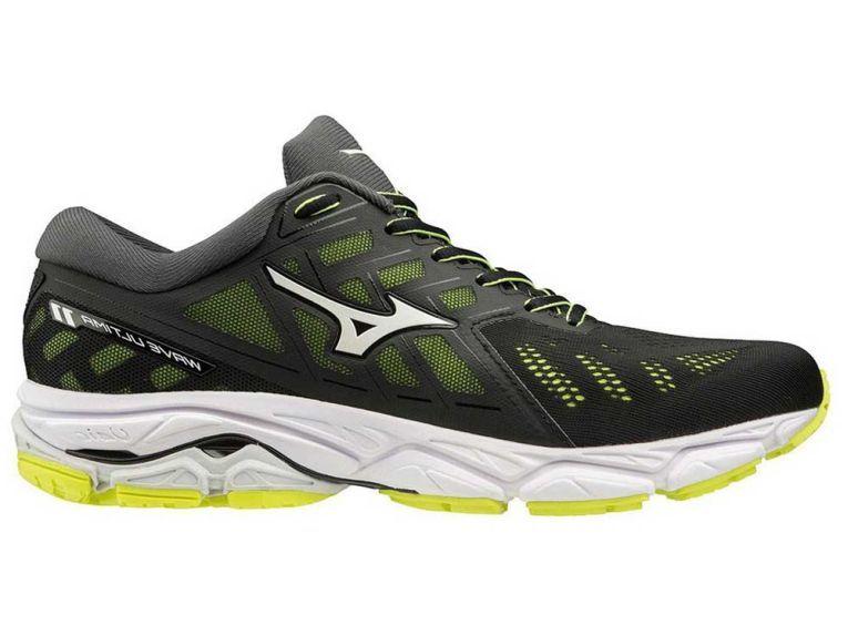 Mizuno Wave Ultima 11 | CZARNO-ZIELONE -  męskie buty do biegania
