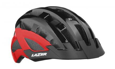Lazer Compact DLX | Black/RED 2019