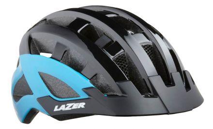Lazer Compact DLX | Black/Blue 2019